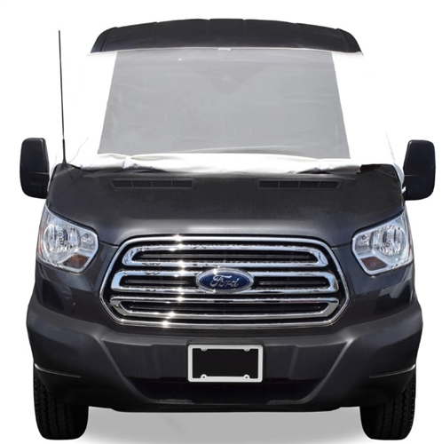 ADCO 2525 Class B & C Ford Transit 2015-2019 Deluxe See-Thru Windshield Cover
