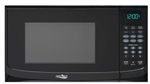 High Pointe EM925AWW-B Microwave Oven With Turn Table