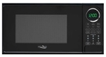 High Pointe EM925ACW-B Microwave Oven With Turn Table