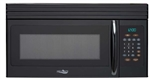 High Pointe EM044KIW-B Over The Range Microwave Oven - Black