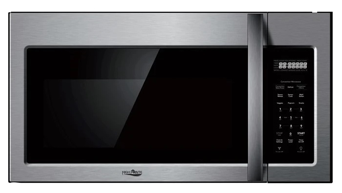 High Pointe Ec942k9e S Over The Range Convection Microwave Oven Silver