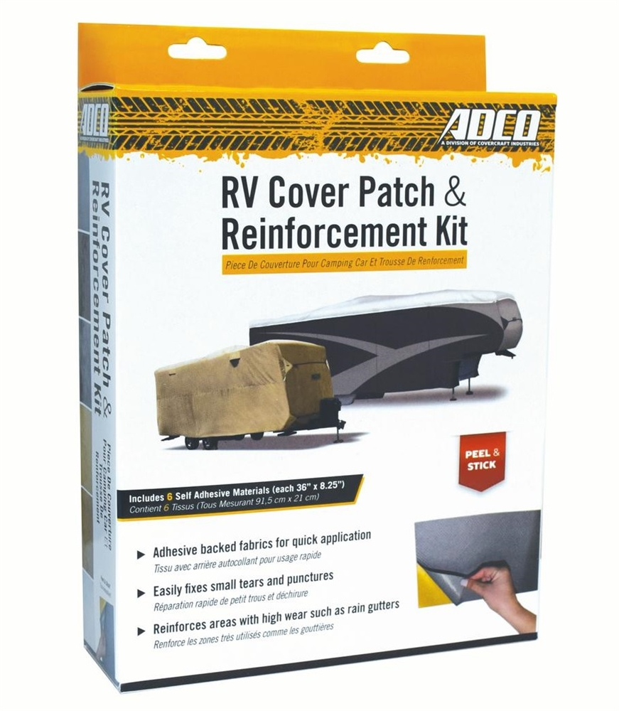 Adco 9023 Rv Cover Repair Kit 36 X 8 1 2