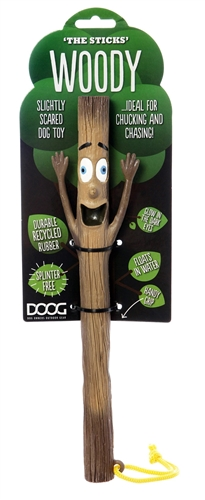Doog STICK01 Stick Figure Fetching Toy - Woody