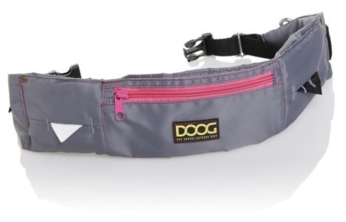 Doog WB17 Adjustable Belt Waistpack - Gray/Neon Pink