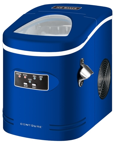 Contoure RV-145-BL Portable Ice Maker - Blue