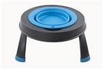 Dexas International PW130432383 Single Small Elevated Pet Feeder - Green