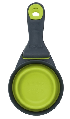 Dexas International PW660432383 Collapsible Food Scoop - Green