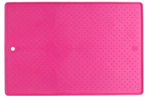 Dexas International PW900233 Small Pet Dish Grippmat - Pink