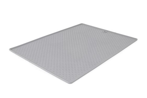 Dexas International PW900432 Small Pet Dish Grippmat - Black
