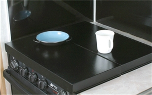 Camco 43554 Stove Top Cover - Black