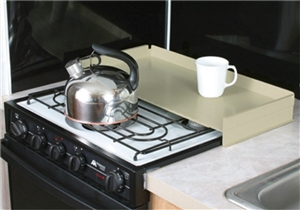 Camco 43559 Stove Top Cover - Almond