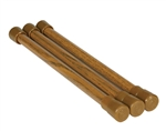 Camco 43833 Oak Cupboard Bars - 3 Pack