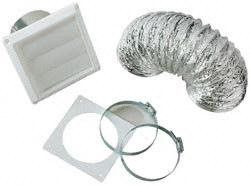 Splendide VI422 Paintable Standard Dryer Vent Kit