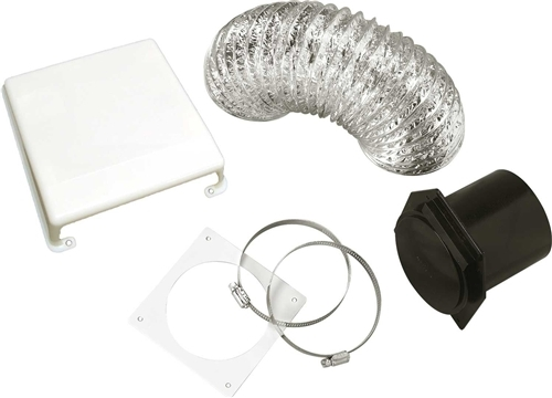 Splendide VID403A Deluxe White Dryer Vent Kit