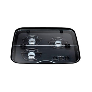 Suburban Flush Mount Glass Cover for 3 Burner, Drop-In Cooktop