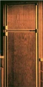 FRV, Inc. N1200LRG Norcold 1200 Oak Laminate Refrigerator Door Panel