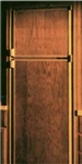 FRV, Inc. DE0040G Norcold DE0040 Oak Laminate Refrigerator Door Panel