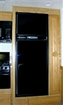 FRV Inc. 3662L Dometic RM3662 Black Acrylic Refrigerator Door Panel
