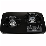 Suburban 2 Burner, Drop-In Cooktop - Black