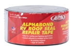 "Alpha Systems 862406 Alphabond RV Roof Seal Repair Tape - Black - 3"" x 50 Ft"