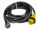 RV Pigtails 30 Amp Extension Cord with 30 Amp Marinco End 25'