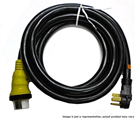 RV Pigtails 50 Amp Extension Cord with Marinco End 2'