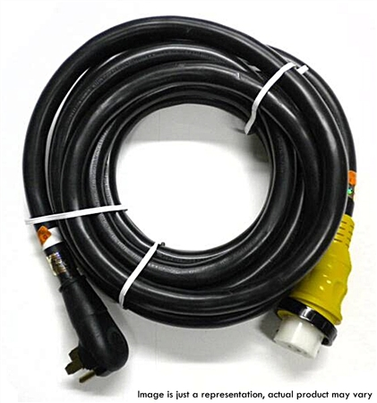 RV Pigtails 50 Amp Extension Cord with Marinco End 25'