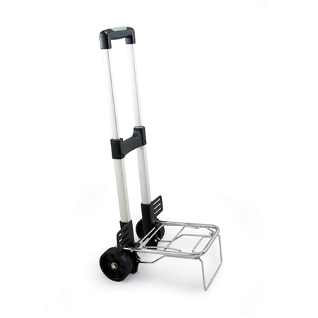Picnic Time Folding Trolley - Silver