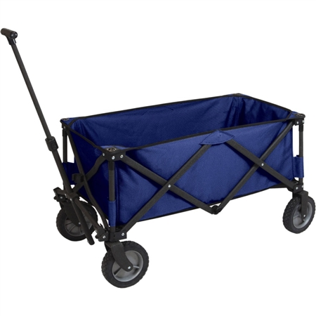 Picnic Time Adventure Wagon Folding Utility Wagon - Navy