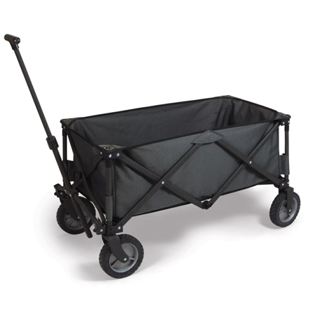 Picnic Time Adventure Wagon Folding Utility Wagon - Dark Grey