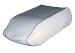 "ADCO 3025 Polar White Carrier Low Profile Air Conditioner Cover - 41"" x 25"" x 9"""