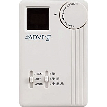 Advent Air Analog Air Conditioner/Furnace Thermostat