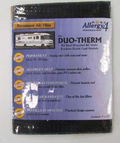 Allergy4 06384 1 pack Duo-Therm Air Filters