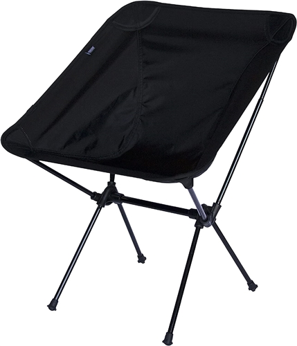 Travel Chair 7789ABK C-Series Joey Folding Camp Chair - Black