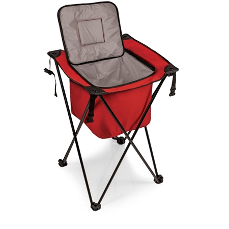 Picnic Time Sidekick Portable Standing Beverage Cooler - Red