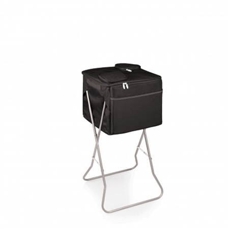 Picnic Time Party Cube Portable Standing Beverage Cooler - Black