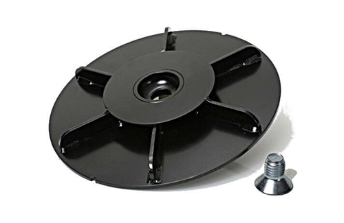 Equalizer Systems 7819 Foot Pad With Plate for Leg Switch and Bolt - 10x10
