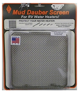JCJ Mud Dauber Water Heater Screen - 6 Gal. Suburban