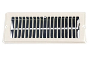 AP Products 013-625 4 x 8 White Floor Register