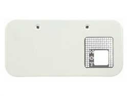 Atwood 33756 Snow White Furnace Access Door