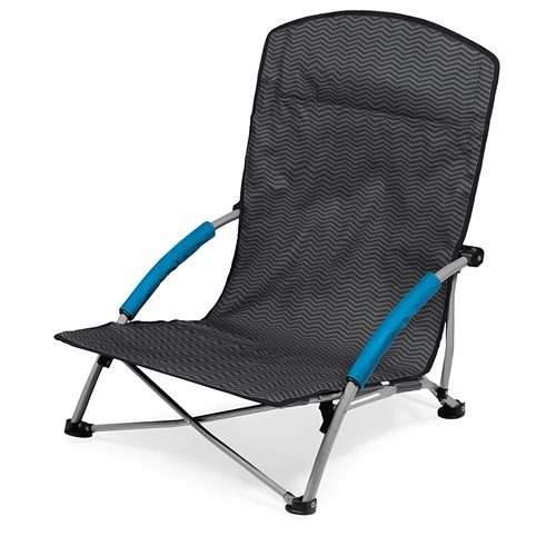 Picnic Time Tranquility Portable Beach Chair - Waves Collection