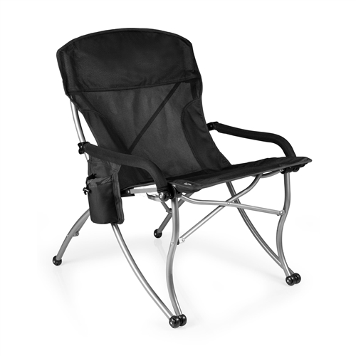 Picnic Time PT-XL Camp Chair - Black