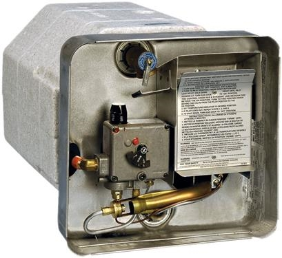 Suburban Pilot Ignition Gas & Electric Water Heater, 6 Gal.