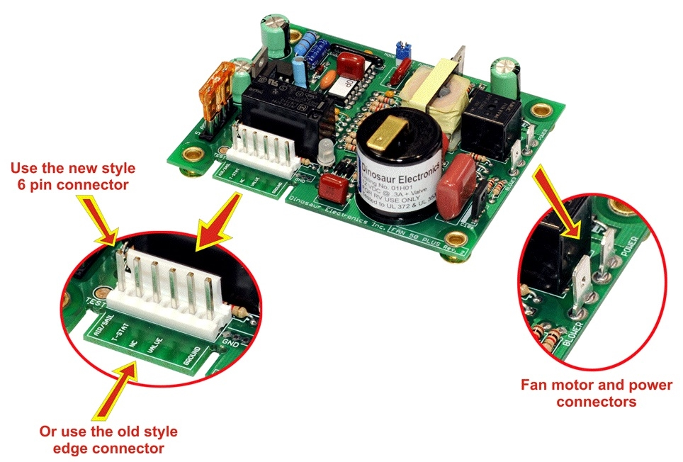 dinosaur fan50pluspins fan 50 plus ignitor board  atwood 93865 circuit board wiring diagram #32