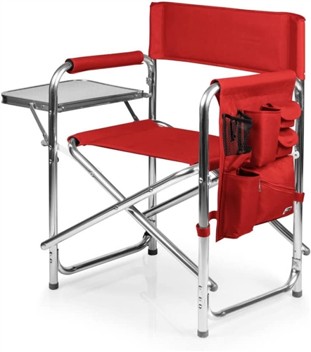 Picnic Time Sports Chair - Red