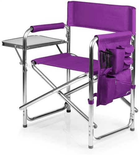 Picnic Time Sports Chair - Purple