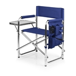 Picnic Time Sports Chair - Navy