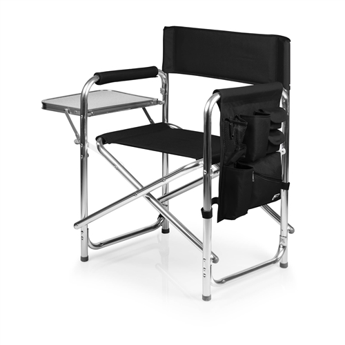 Picnic Time Sports Chair - Black