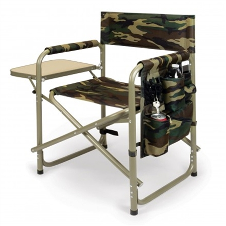 Picnic Time Sports Chair - Camouflage