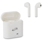 iLive IAEBT209W Wireless Bluetooth Earbuds - White